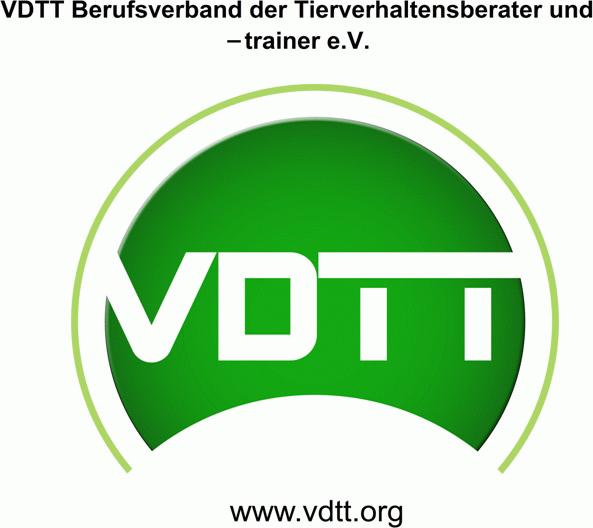 Mitglied im VDTT - Berufsverband der Tierverhaltensberater und -trainer e.V.